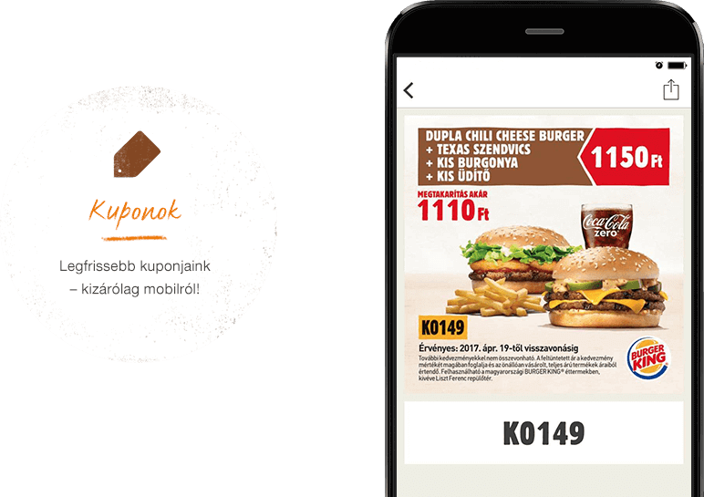 Coupons. Tap into the freshest mobile-only coupons.